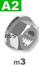 m3 / per stuk - zeskant combimoer met draaibare ring A2