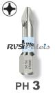 PH 3 / per stuk - RVS (INOX) 1/4 bit