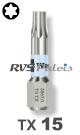 TX 15 / per stuk - RVS (INOX) 1/4 bit