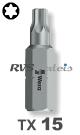 TX 15 / per stuk - CrMoV-Staal 1/4 bit