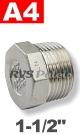 1-1/2   - 6-KNT plug A4