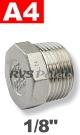 1/8   - 6-KNT plug A4